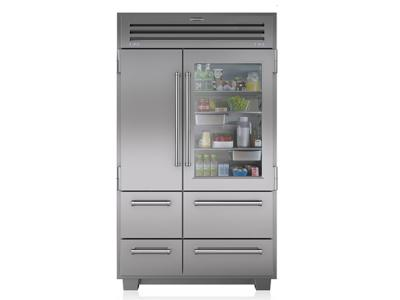 "48"" Subzero Built-in Side-by-Side Refrigerator - 648PROG"