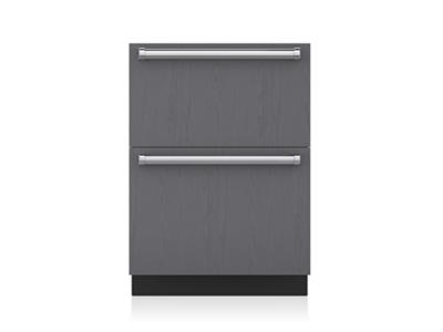 "24"" SUBZERO Freezer Drawers with Ice Maker - Panel Ready - ID-24FI"