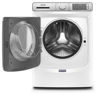 "27"" Maytag 5.8 cu. ft. Front Load Washer with Extra Power and 24-Hr Fresh Hold Option - MHW8630HW"