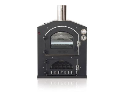 """20"""" Fontana Forni Inc 100x65 Built-In Wood Burning Oven With Sloped Top - CA-INC-100x65V"""