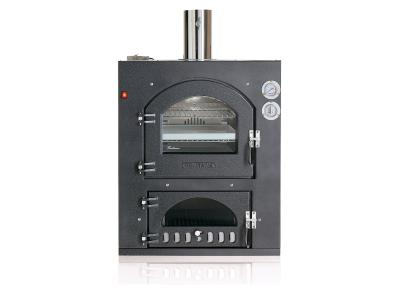 """34"""" Fontana Forni Inc Q 80x54 Built-In Wood Burning Oven With Square Top - CA-INC-80x54Q"""