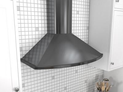 "36"" Zephyr Savona Wall Mount Chimney Hood with Recirculating Option - ZSAM90DBS"