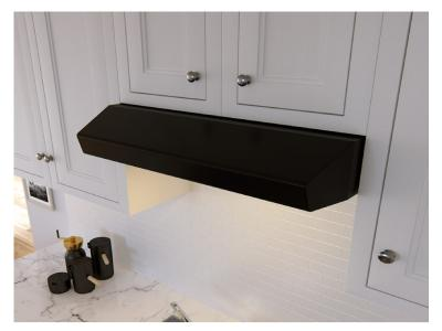 "30"" Zephyr Core Series Breeze Under Cabinet Range Hood In Black - AK1100B"