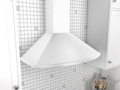 "36"" Zephyr Savona Wall Mount Chimney Hood with Recirculating Option  - ZSAM90DW"