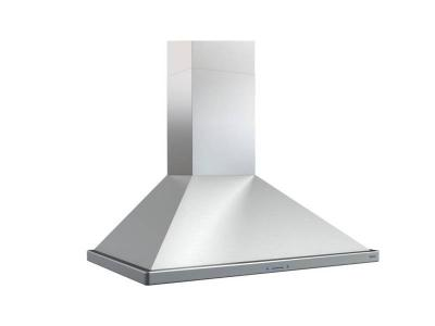 "30"" Zephyr Siena Energy Star Wall Mount Chimney Range Hood with 400 CFM Internal Blower - ZSIE30ASES"