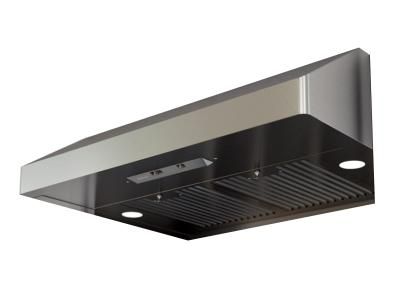 "36"" Zephyr Core Series Gust Under Cabinet Convertible Hood - AK7136ASBF"
