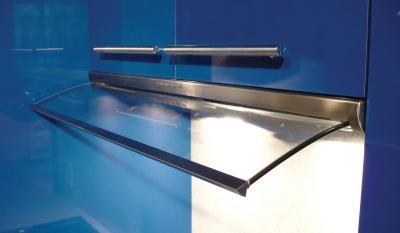 """36"""" Faber Integrated Collection Velvet Under-Cabinet Slide-Out Hood - VELV36SS"""