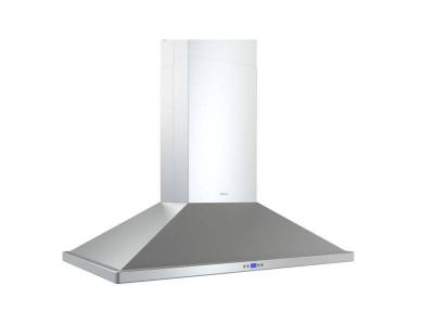 "36"" Zephyr  Island Mount Chimney Range Hood with 715 CFM Internal Blower - ZNAM90CS"