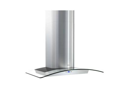 "36"" Zephyr Milano Wall-Mount Chimney Range Hood with 715 CFM Internal Blower - ZMIM90BG"