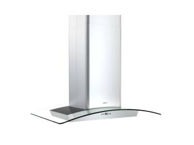 "42"" Milano Island-Mount Chimney Range Hood with 715 CFM Internal Blower - ZMLE42BG"