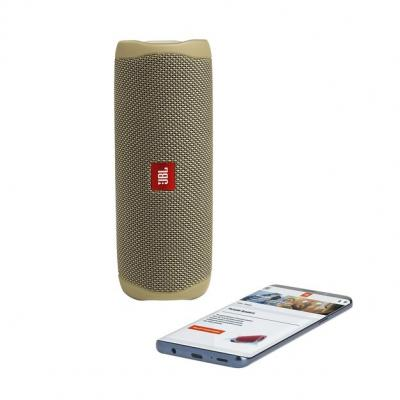 JBL FLIP 5 Portable Waterproof Speaker - JBLFLIP5SANDAM