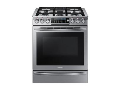 "30"" Samsung 5.8 cu.ft Gas Range (Stainless Steel) - NX58H9500WS"