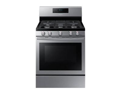 "30"" Samsung 5.8 cu.ft Gas Range (Stainless Steel) - NX58H5600SS"