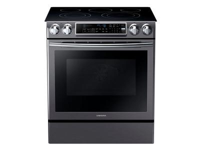 "30"" Samsung NEF900A  5.8 cu.ft Electric Range with Slide-in Design NE58K9500SG"