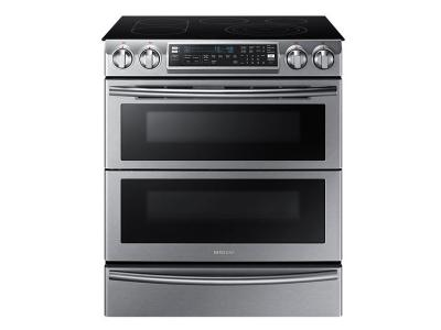"30"" Samsung NE9000K Electric Range with Flex Duo, 5.8 cu.ft. - NE58K9850WS"