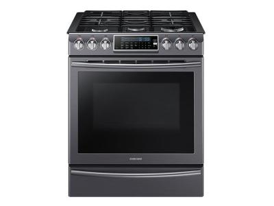 "30"" Samsung Gas Range with 18K Dual Power Burner, 5.8 cu.ft NX58K9500WG"