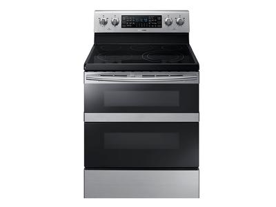 Samsung 5.9 cu. ft. Freestanding Electric Range with Flex Duo - NE59M6850SS