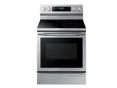 "30"" Samsung NE5000N Electric Oven with Steam Assist - NE59N6650WS"