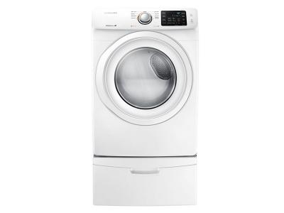 "27"" Samsung 7.5 cu.ft Electric Front-Load Dryer (White) - DV42H5000EW"