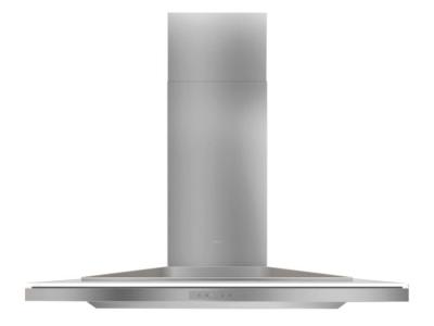 "36"" Zephyr Designer Series Layers Wall Mount Chimney Range Hood With White Glass - ALAM90BWX"
