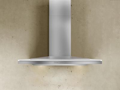 "42"" Zephyr Designer Series Layers Wall Mount Chimney Range Hood With White Glass - ALAE42BWX"