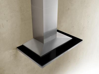 "42"" Zephyr Designer Series Layers Wall Mount Chimney Range Hood With Black Glass - ALAE42BBX"