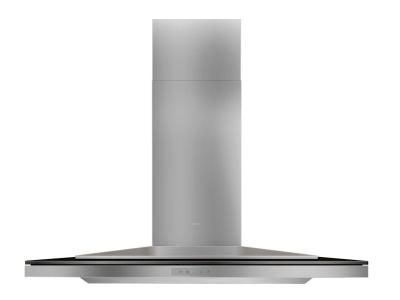 "42"" Zephyr Designer Series Layers Wall Mount Chimney Range Hood With Black Glass - ALAE42BBX"