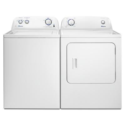 4.0 cu. ft.  Amana Top-Load Washer with Dual Action Agitator - NTW4516FW