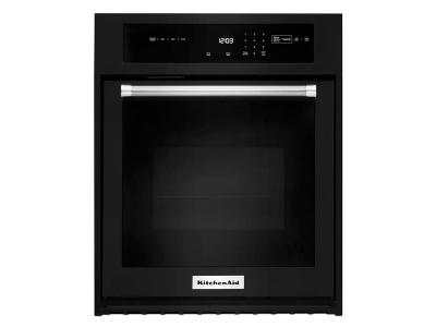 "30"" KitchenAid Single Wall Oven with Even-Heat True Convection - KOSE500EBL"