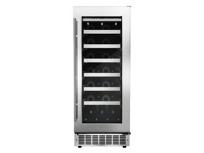 "15"" Silhouette TUSCANY SINGLE ZONE WINE CELLAR. dwc031d1bsspr"