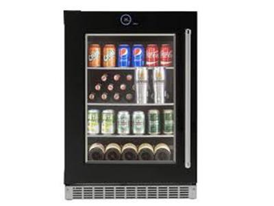 "24 "" Silhouette  Wide 5.0 Cu. Ft. Capacity Left Handed Beverage Center - SRVBC050L"