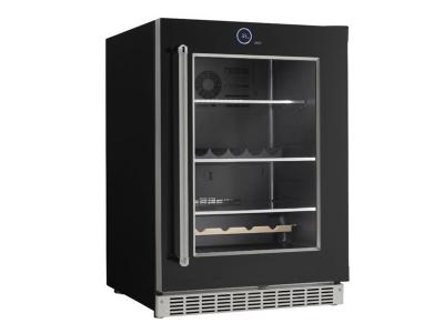 "24 "" Silhouette  Wide 5.0 Cu. Ft. Capacity Right Handed Beverage Center - SRVBC050R"