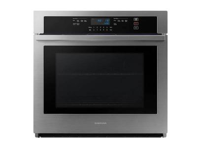 "30"" Samsung Single Wall Oven with Wi-Fi in Stainless Steel - NV51T5511SS"