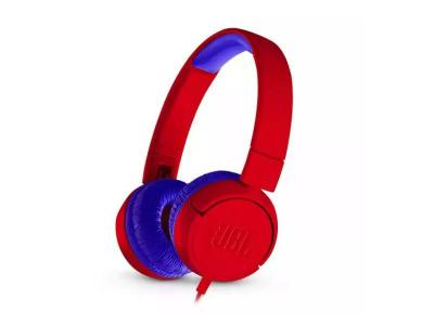 JBL JR300 Kids On-Ear Headphones - JBLJR300REDAM