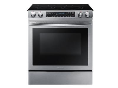 Samsung NE9000K Electric Range with 5 burners, 5.8 cu.ft - NE58M9430SS