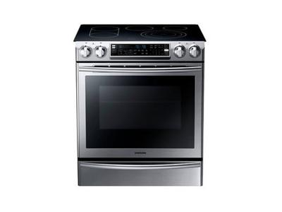 "30"" Samsung 5.8 cu.ft Electric Range (Stainless Steel) - NE58F9710WS"