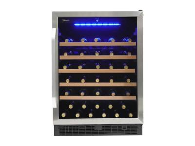 "24"" Silhouette Single Zone Wine Cellar - SWC057D1BSS"