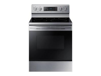 "30"" Samsung 5.9 cu.ft. Freestanding Electric Range in Stainless Steel - NE59T4311SS"