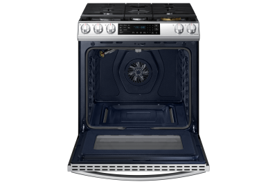 "30"" Samsung 6.0 Cu. Ft. Gas Range With True Convection And Air Fry In Stainless Steel - NX60T8511SS"