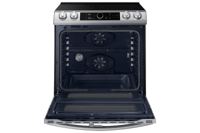 "30"" Samsung 6.3 Cu. Ft. Electric Range With Flex Duo And Air Fry In Stainless Steel - NE63T8751SS"