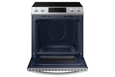 "30"" Samsung 6.3 Cu. Ft. Electric Range With Slide-in Design In Stainless Steel - NE63T8111SS"