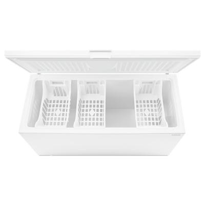 "67"" Amana 22 cu. ft. Amana Chest Freezer with 3 Wire Baskets - AZC31T22DW"