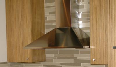 "36"" Faber Decorative Collection Synthesis Wall-Mount Chimney Hood - SYNT36SS300"