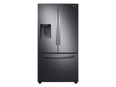 "36"" Samsung 27 Cu. Ft. French Door With SpaceMax Technology In Black Stainless Steel - RF27T5201SG"