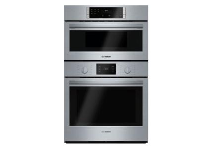 "30"" Bosch 500 Series Combination Oven-Stainless Steel-HBL57M52UC"