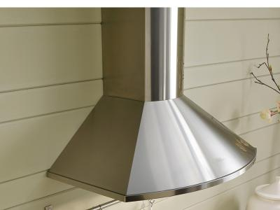 "36"" Faber Tender Collection Wall Mount Chimney Hood - TEND36SS600-B"