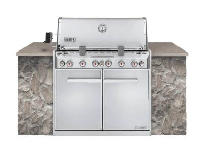 "42"" Weber Summit S-660 Built In Natural Gas Grill - Summit S-660 NG"