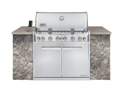 "42"" Weber Summit S-660 Built-In Propane Gas Grill - Summit S-660 LP"