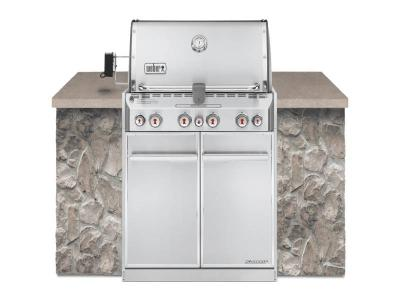 "34"" Weber Summit S-460 Built-In Natural Gas Grill - Summit S-460 NG"