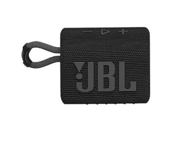 JBL Go 3 Portable Bluetooth Speaker in Black - JBLGO3BLKAM